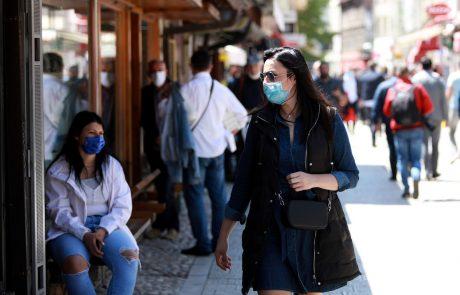 V BiH v zadnjem dnevu potrdili rekordnih 343 okužb z novim koronavirusom