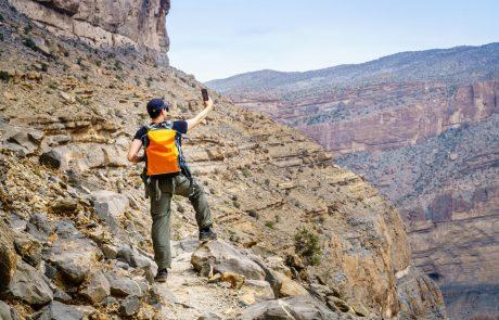 Telefon nam lahko v gorah reši življenje