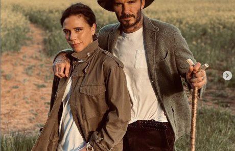 Victoria Beckham je ob 22. obletnici poroke Davidu voščila s prav posebno kompilacijo zasebnih videov