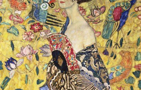 Velik dogodek: Klimtova Dama s pahljačo ponovno na ogled na Dunaju