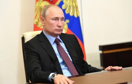 Putin podpisal zakon, ki mu bo omogočil še dva mandata
