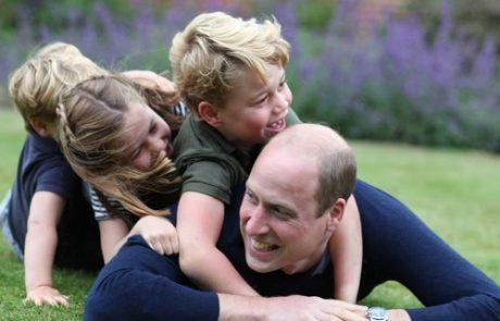 Vse najboljše princ William: Takole je praznoval v družbi svojih otrok (foto)