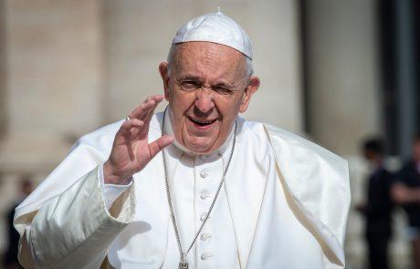 """Papež: """"Cepite se!"""""""