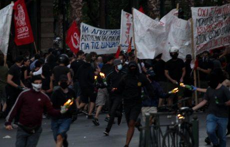 Grki včeraj na ulice Aten zaradi novega zakona, ki omejuje proteste