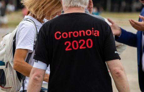 V Nemčiji protesti proti koronavirusnim omejitvam