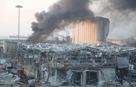 Po eksploziji v Bejrutu še vedno pogrešajo več kot 60 ljudi