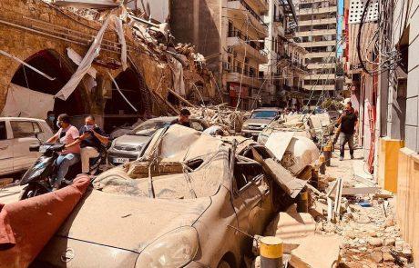 V Bejrutu mesec dni po eksploziji pod ruševinami zaznali srčni utrip preživelega