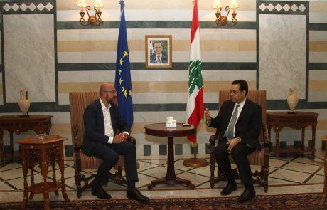 Po uničujoči eksploziji v Bejrutu odstopila celotna vlada