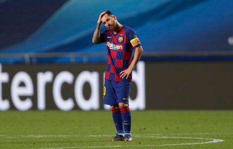 Messi razmišlja o tem, da bi zapustil Barcelono
