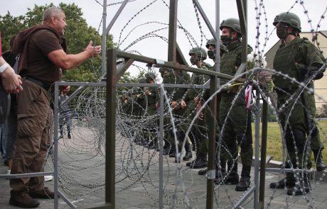 Belorusi po zaprisegi Lukašenka znova na ulicah