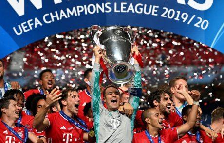 Nogometaši Bayerna iz Münchna so šestič postali evropski prvaki