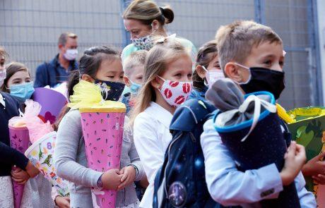 """""""Ni dokazov, da bi bilo nošenje mask nevarno za otroke"""""""