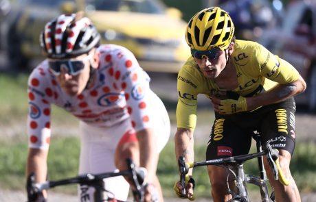 Roglič in Pogačar v zadnji etapi po končno zmago