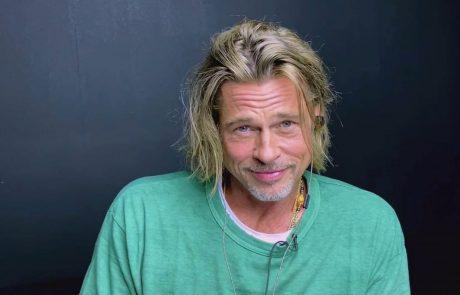 """Brad Pitt nima več moči, niti volje: """"Želim izginiti za 5 let"""""""