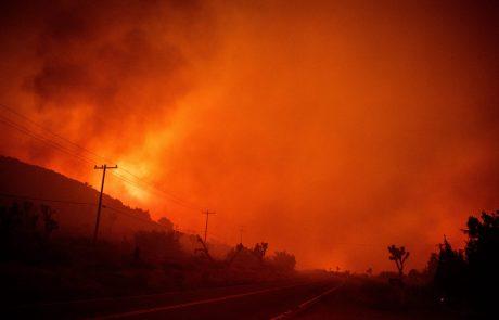 Kalifornijo zajeli najhujši požari v zgodovini