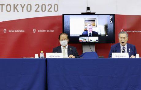 Organizatorji: Olimpijske igre v Tokiu bomo pripravili neglede na vse!