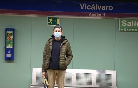 Za približno milijon prebivalcev španske prestolnice od danes velja delna karantena