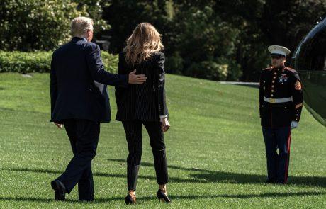 Trump in Melania oba okužena z novim koronavirusom