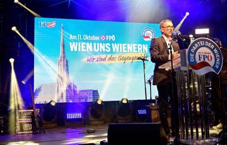 Po vzporednih volitvah na Dunaju po pričakovanjih slavi SPÖ, hud poraz za svobodnjake