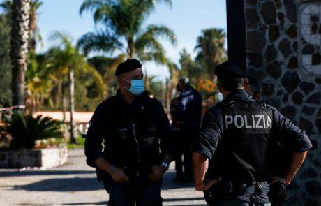 Na Siciliji skoraj sto aretacij v boju proti mafijski nezakoniti trgovini z mamili