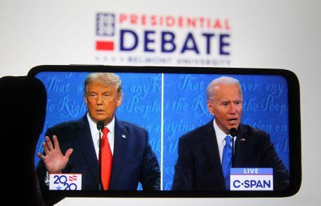 Biden in Trump v ponedeljek posvečala pozornost ključni državi Pensilvanija