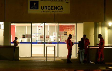 V Ljubljani kar tretjina urgentnih reševalnih prevozov na Silvestrovo zaradi poslabšanja covidne bolezni