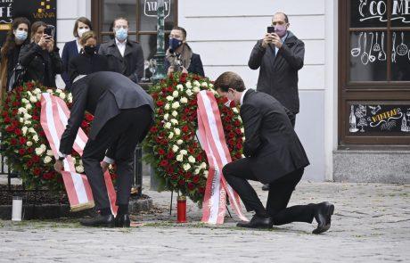 Med ubitimi in ranjenimi na Dunaju več tujcev,  žrtve stare med 21 in 43 let