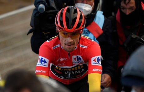 Bo Roglič dominiral že na prvi etapi Vuelte?