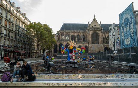 Pariški center Pompidou, kjer domuje največja evropska zbirka moderne umetnosti, bodo zaprli zaradi štiriletne prenove