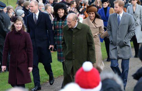 Princ Harry se je prvič po odhodu v ZDA vrnil v Veliko Britanijo na dedkov pogreb, Meghan je dobila prepoved