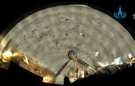 Kitajska sonda uspešno zbrala material na Luni