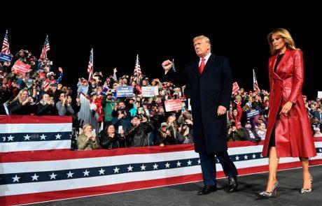 Trump na prvem shodu po volitvah vztrajal, da je zmagal