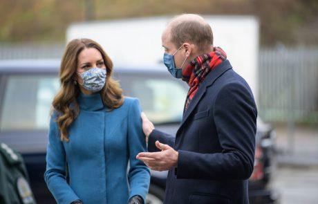 Princ William in Kate doživela hladen tuš: tega zagotovo nista pričakovala