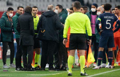 Uefa napovedala podrobno preiskavo rasističnega incidenta na tekmi v Parizu