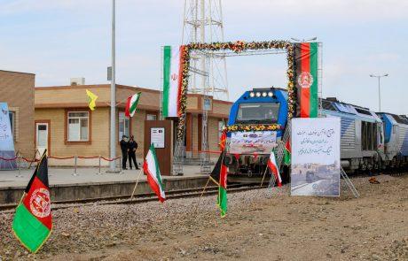 Odprli težko pričakovano železniško povezavo med Afganistanom in Iranom