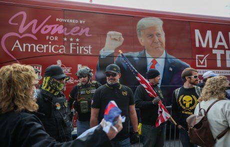 Ena od nasilnih skupin podpornikov Donalda Trumpa v kanadi razglašena za teroristično organizacijo