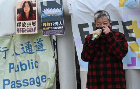 Kitajko obsodili na štiri leta zapora, ker je javnost obveščala o dogajanju v Wuhanu