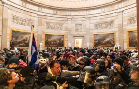 Peta žrtev vdora v ameriški kongres: poškodbam podlegel še policist