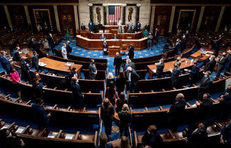 """Ameriški kongres nadaljuje zasedanje: """"Nasilje nikoli ne zmaga, svoboda zmaga"""""""