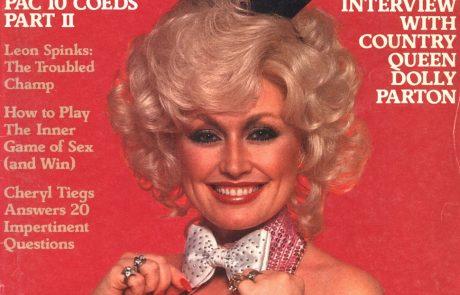 Noro: Dolly Parton pri 75.ih znova na naslovnici Playboyja