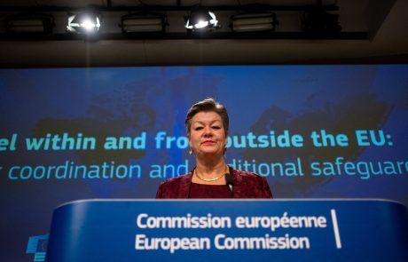 """Evropska komisarka okrcala šefa Frontexa: """"Spravite se v red!"""""""
