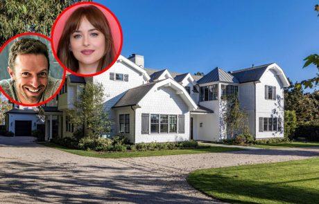 Sanjski dom: Dakota Johnson in Chris Martin sta si za 12 milijonov dolarjev kupila prelepo vilo v Malibuju