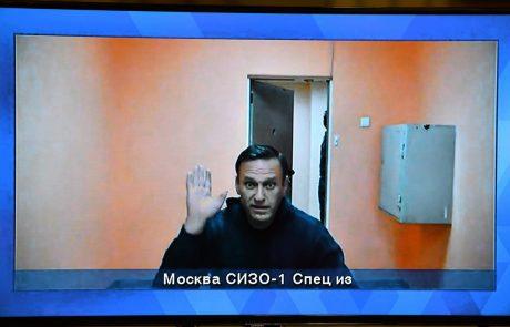 Navalnega premestili v kazensko kolonijo vzhodno od Moskve