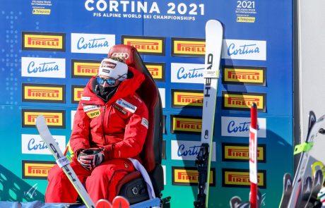 Lara Gut-Behrami je nova svetovna prvakinja v superveleslalomu.