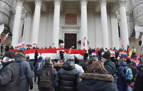 Na Dunaju znova protesti proti ukrepom zoper covid-19