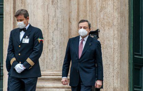 Italijanski premier Mario Draghi se je odrekel plači predsednika vlade
