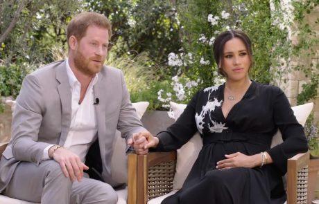 """Meghan in Harry v intervjuju šokirala celo Oprah: """"Na neki točki skoraj ni bilo več mogoče tako živeti"""""""