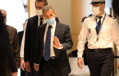 Bivši francoski predsednik Sarkozy obsojen na tri leta zapora