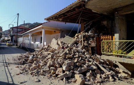 Grčijo stresel močan potres