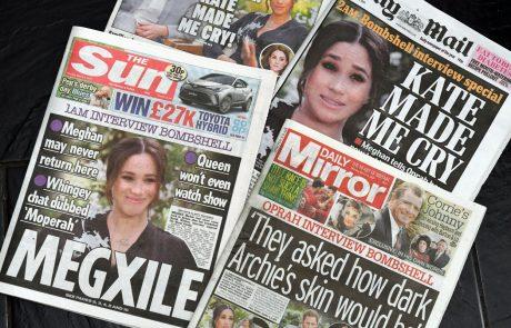 Družbena omrežja gorijo: Smešne reakcije na intervju Meghan in Harryja preplavile splet